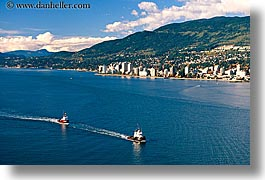 boats, canada, cityscapes, horizontal, north, vancouver, photograph