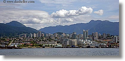 canada, cityscapes, horizontal, north, panoramic, vancouver, photograph