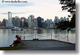 canada, cityscapes, horizontal, people, slow exposure, vancouver, water, womens, photograph