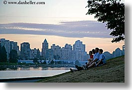 canada, cityscapes, families, horizontal, people, vancouver, photograph