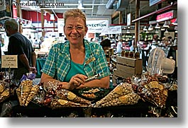 canada, flavored, granville island, horizontal, nuts, vancouver, photograph