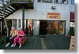 canada, cream, eating, granville island, horizontal, ice, tourists, vancouver, photograph