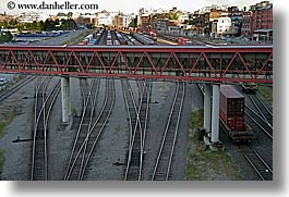canada, horizontal, railroad, tracks, vancouver, photograph