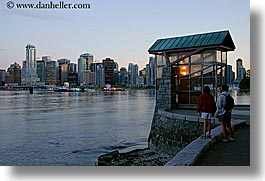 canada, canon, cityscapes, horizontal, houses, nite, slow exposure, vancouver, photograph