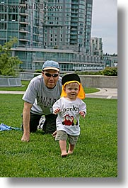 babies, canada, fathers, jacks, people, vancouver, vertical, photograph