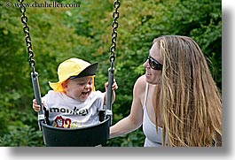 babies, canada, horizontal, jack and jill, jacks, mothers, people, swings, vancouver, photograph