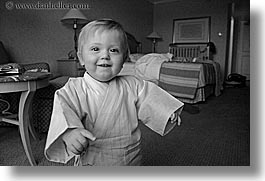 babies, black and white, canada, horizontal, jacks, judo, people, vancouver, photograph
