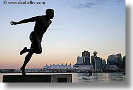 canada, harry, harry winston statue, horizontal, jerome, stanley park, statues, vancouver, winston, photograph