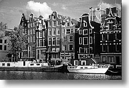 amsterdam, boats, europe, horizontal, photograph
