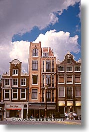 amsterdam, buildings, europe, streets, vertical, photograph