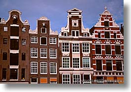 amsterdam, buildings, europe, horizontal, streets, photograph