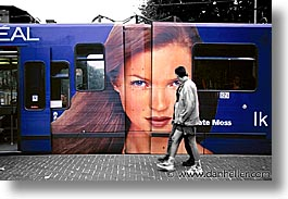 amsterdam, bus, europe, horizontal, streets, photograph