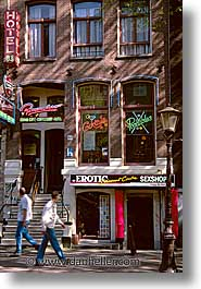amsterdam, europe, shops, streets, vertical, photograph