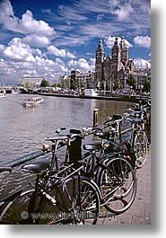 amsterdam, europe, rivers, vertical, waterways, photograph