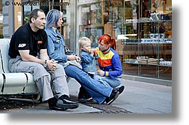 austria, colored, europe, families, horizontal, multi, people, vienna, photograph