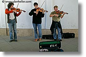 austria, europe, horizontal, people, vienna, violinists, photograph