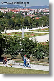austria, europe, paths, schoenbrunn, vertical, vienna, photograph