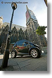 austria, cars, europe, st stephens, stephens, vertical, vienna, photograph