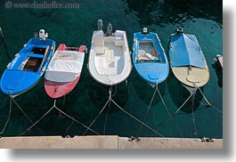boats, colorful, colors, cres, croatia, europe, horizontal, turquoise, water, photograph
