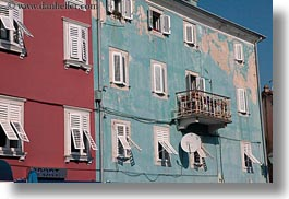buildings, colorful, colors, cres, croatia, europe, horizontal, old, photograph
