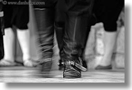 black and white, clothes, clothing, croatia, dancing, dubrovnik, europe, folk dancing, horizontal, shoes, photograph