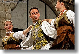 couples, croatia, dance, dancing, dubrovnik, europe, folk dancing, horizontal, people, photograph