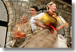 croatia, dancing, dubrovnik, europe, folk dancing, groups, horizontal, motion blur, people, photograph