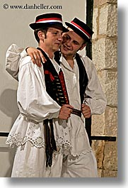 croatia, dance, dancing, dubrovnik, europe, folk dancing, men, vertical, photograph
