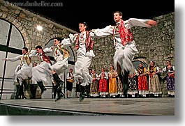 croatia, dance, dancing, dubrovnik, europe, folk dancing, horizontal, men, photograph