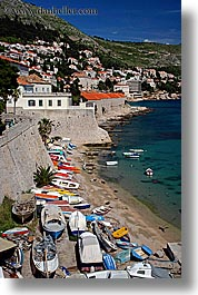 boats, croatia, dubrovnik, europe, harbor, towns, vertical, photograph