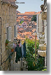 croatia, dubrovnik, europe, hangings, laundry, vertical, photograph