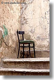 chairs, croatia, dubrovnik, europe, lone, vertical, photograph