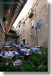 cafes, croatia, dubrovnik, europe, outdoors, vertical, photograph