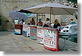 croatia, dubrovnik, europe, horizontal, stations, tour guides, photograph