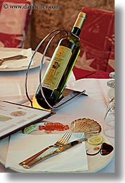 croatia, dubrovnik, europe, setting, tables, vertical, wines, photograph