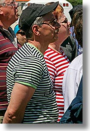 couples, croatia, dubrovnik, europe, people, striped, vertical, photograph