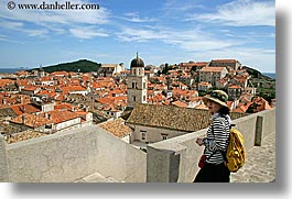 asian, cityscapes, croatia, dubrovnik, europe, horizontal, town view, townview, womens, photograph