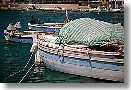 boats, croatia, europe, fishing, horizontal, hvar, ocean, water, photograph