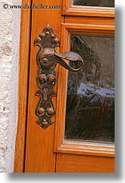 croatia, doors, europe, handle, hvar, vertical, photograph