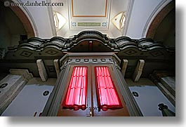 croatia, curtains, europe, horizontal, hvar, red, st stephan cathedral, photograph