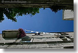 croatia, europe, hangings, horizontal, korcula, laundry, photograph