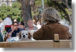 croatia, dogs, europe, horizontal, korcula, people, photograph