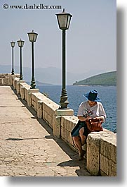 croatia, europe, korcula, people, vertical, walls, womens, photograph