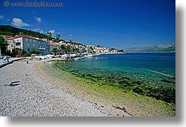 beaches, croatia, europe, horizontal, korcula, ocean, scenics, photograph