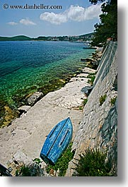 boats, croatia, europe, from, korcula, ocean, scenics, vertical, views, walls, photograph