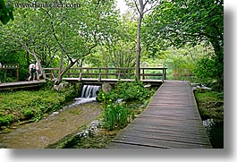 boardwalk, croatia, europe, forests, horizontal, krka, photograph