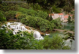 croatia, europe, horizontal, krka, long exposure, waterfalls, photograph