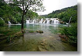 croatia, europe, horizontal, krka, slow exposure, waterfalls, photograph