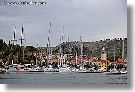 croatia, europe, horizontal, krka, skradin, towns, photograph