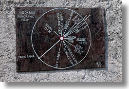 croatia, europe, horizontal, mali losinj, sundial, photograph